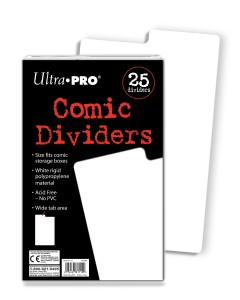 Helpful in both dividing comics and bringing order to a comic-collecting mind.
