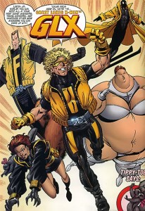 They're the Great Lakes Avengers... or X-Men... or Champions...